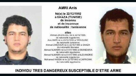 A reward of more $100,000 had been offered for information on Anis Amri