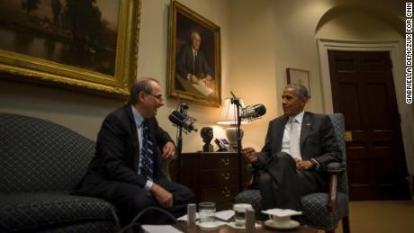 Full transcript: David Axelrod interviews President Barack
