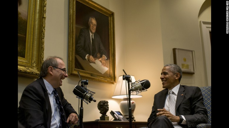 Axelrod discusses Obama legacy, 'The Axe Files'