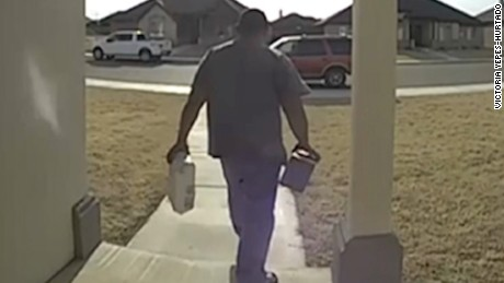 Thieves take holiday packages from front door & Thieves take holiday packages from front door - CNN Video