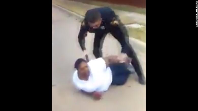 officer arrests mother who calls him for help