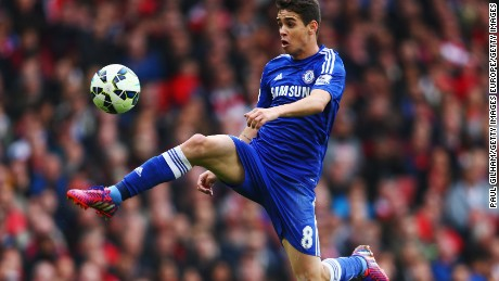 485afb7840 Oscar  Chelsea midfielder to join Chinese Super League club Shanghai ...