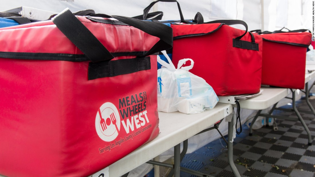 Meals on Wheels, made up of a network of nonprofits around the US, is trying to include health and safety checks to their food delivery service.