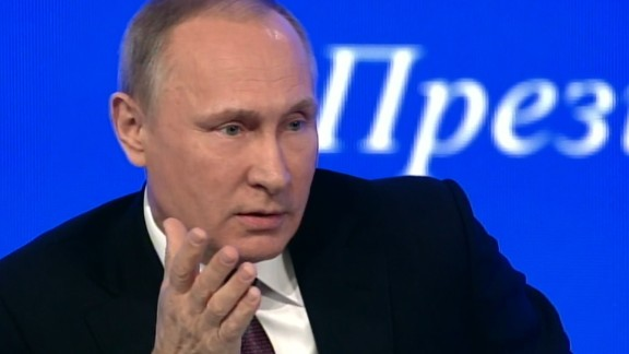 Russian President Vladimir Putin ways in on American politics