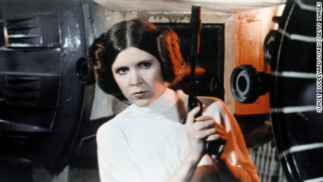 Carrie Fisher pornó