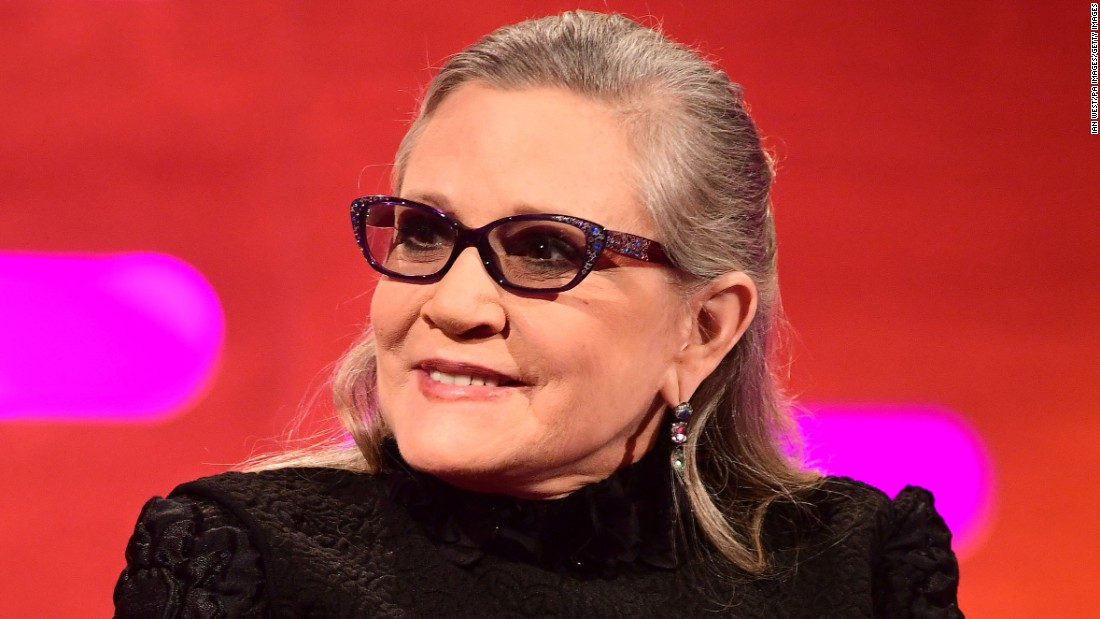 "Actress Carrie Fisher, who rose to stardom as Princess Leia in the ""Star Wars"" films, used her fame to share stories of addiction, mental health and family issues. Her transparency and willingness to take on difficult subjects solidified her legacy as a champion for mental health issues."