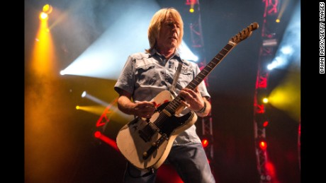 Rick Parfitt was a member of Status Quo for nearly 50 years.