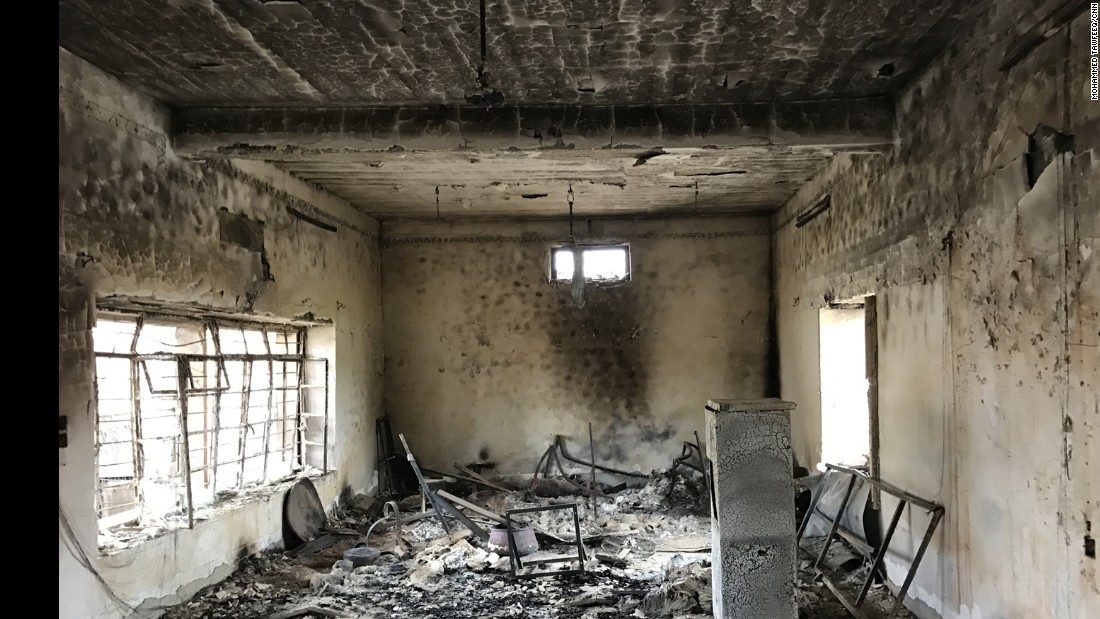 ISIS attacked the Iraqi town of Bartella in 2014, burning and damaging the Mart Shmony Church.