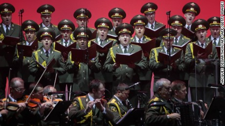 The  Alexandrov Ensemble has performed across the world.