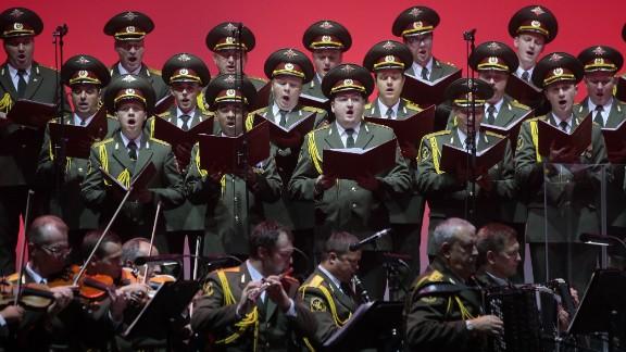 The  Alexandrov Ensemble has performed across the world.