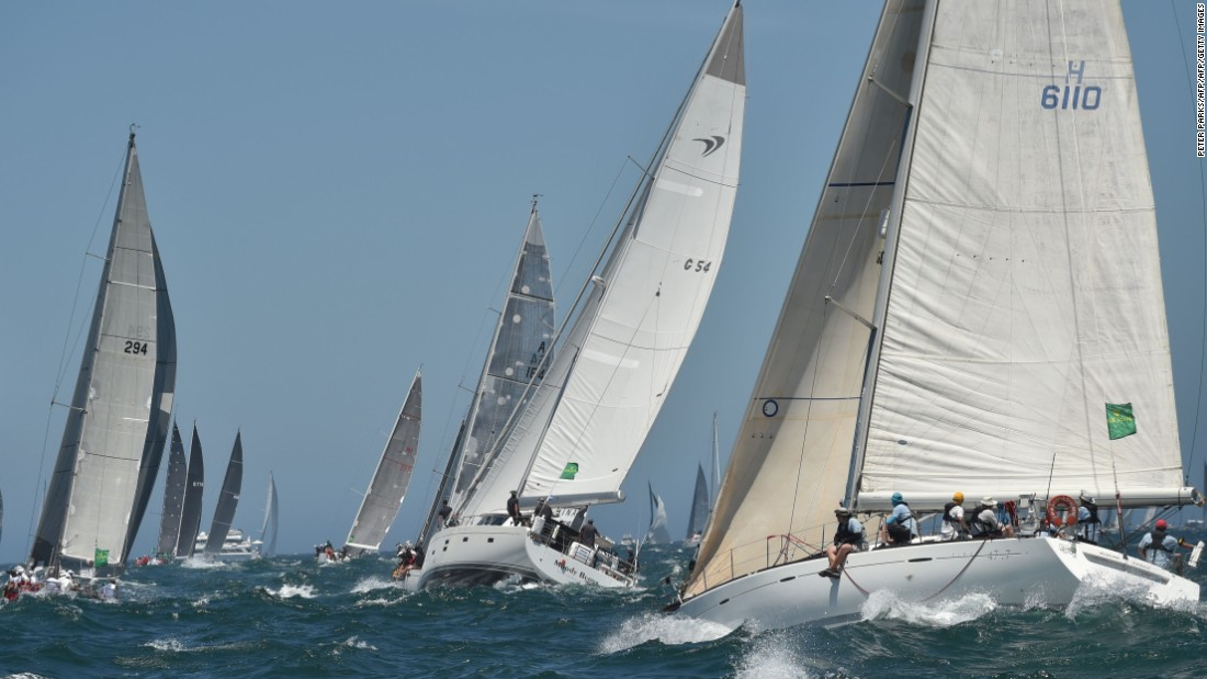 The race lineup features yachts from a variety of sizes and classes, with the line honors title going to the fastest boat to reach port in Tasmania and the overall winner on corrected handicap time.