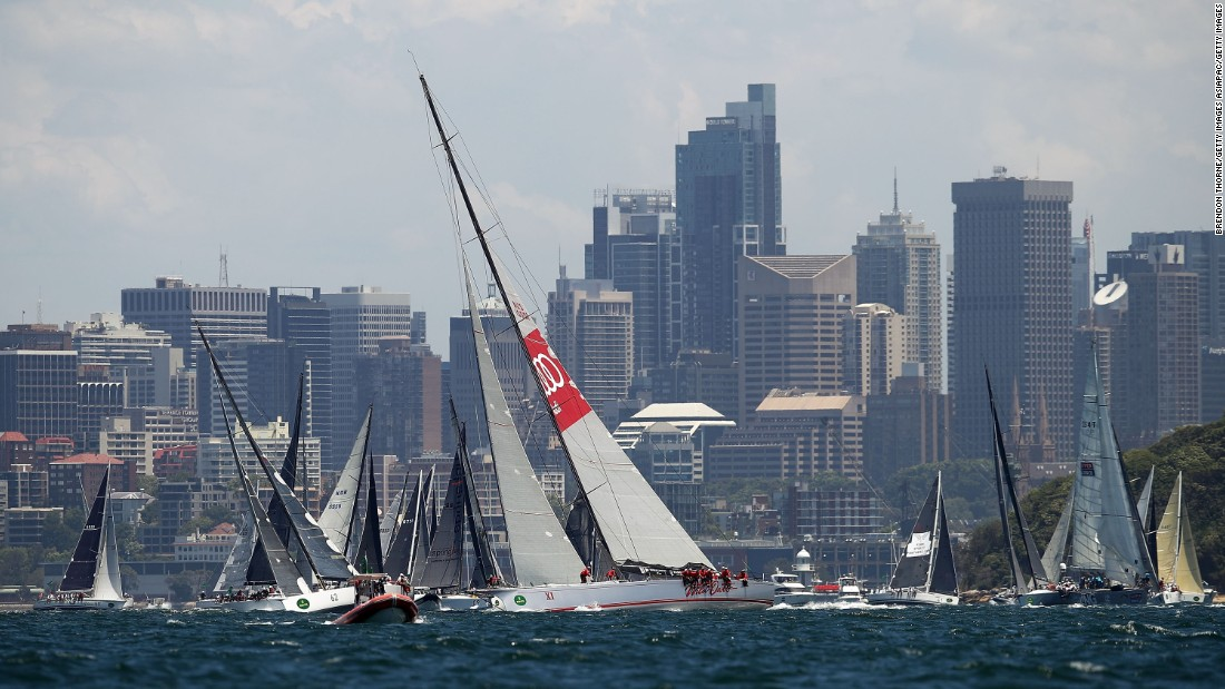 That record was set by eight-time line honors winner Wild Oats XI -- but its race was was ended on Tuesday night when it suffered failure of its hydraulic keel control mechanism while in the lead.