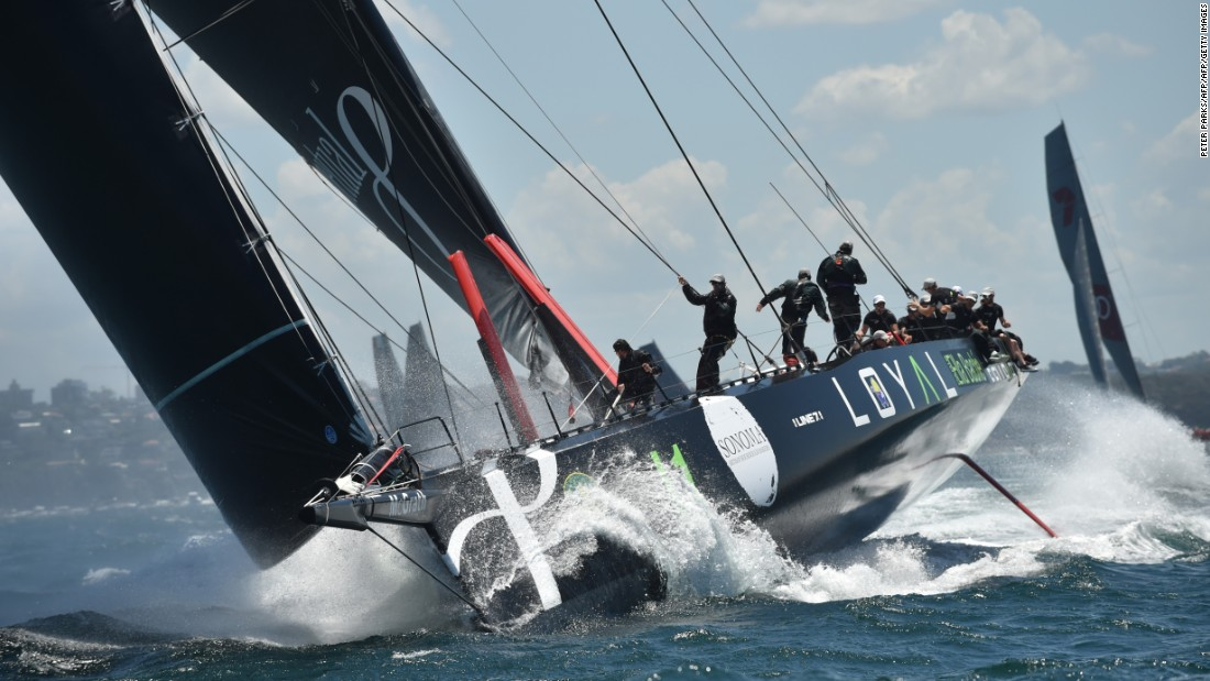 Having failed to finish the past two races, owner Anthony Bell was rewarded after revamping both the 100-foot yacht and its crew.