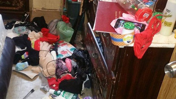 Kimberly Santiago says NYPD officers ransacked her apartment