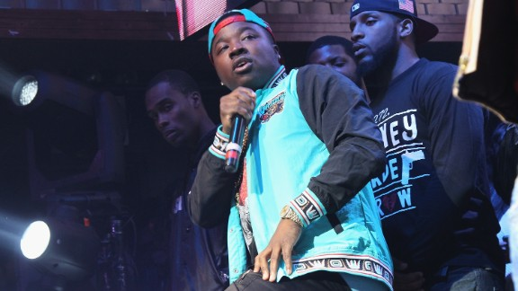 NEW YORK, NY - NOVEMBER 17:  Troy Ave performs onstage as Coors Light Soundtrack reFRESH brings DJ Mustard, Fabolous and special guests To NYC at Stage 48 on November 17, 2015 in New York City.  (Photo by Bennett Raglin/Getty Images for Coors Light)