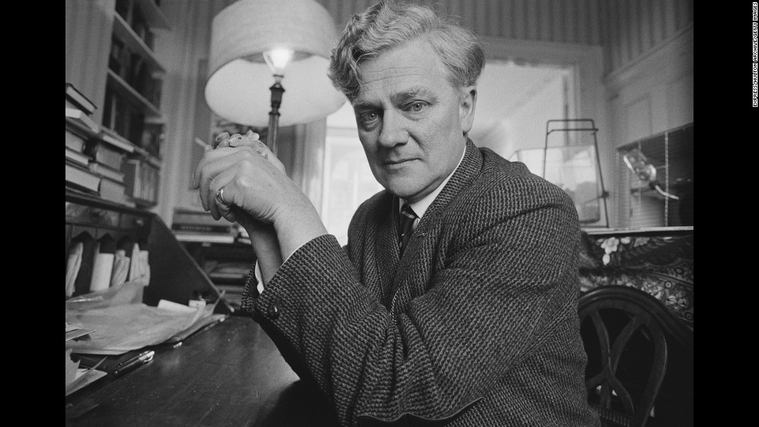 "English novelist <a href=""http://www.cnn.com/2016/12/27/europe/richard-adams-watership-down-obit/"" target=""_blank"">Richard Adams</a>, author of the famous children's book ""Watership Down,"" died at the age of 96 on December 24."
