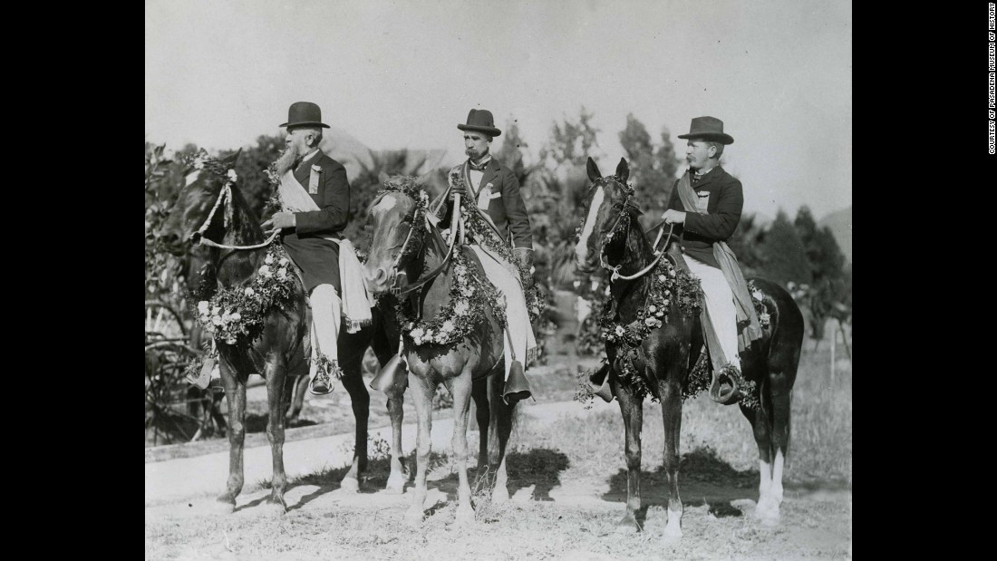 "According to the <a href=""https://www.tournamentofroses.com/history/timeline"" target=""_blank"">Tournament of Roses website</a>, by 1895 the parade had become too big for the Valley Hunt Club to handle alone. At a public meeting, the Tournament of Roses Association was formed to produce the annual festival."
