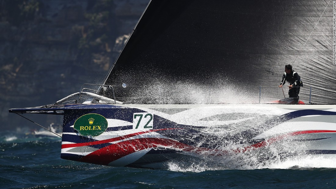 Giacomo, a 70-footer owned by New Zealand wine magnate Jim Delegat, crossed the line second just under two hours later.
