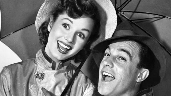 Reynolds starred with Gene Kelly in 1952