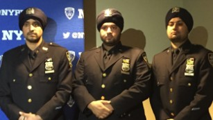 NYPD changes policy, will allow officers to wear turbans