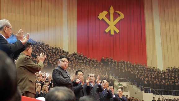 This photo taken on December 28, 2016 and released on December 29, 2016 by North Korea