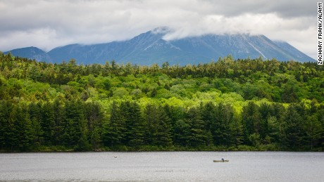 Maine's North Woods offer boating and more outdoor activities.