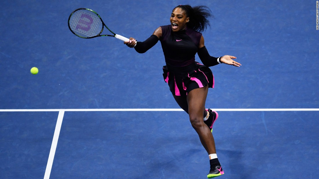 Serena Williams in action during the 2016 US Open at the USTA Billie Jean King National Tennis Center in Flushing, New York. Here's a look at her many different fashion styles, on court and off.