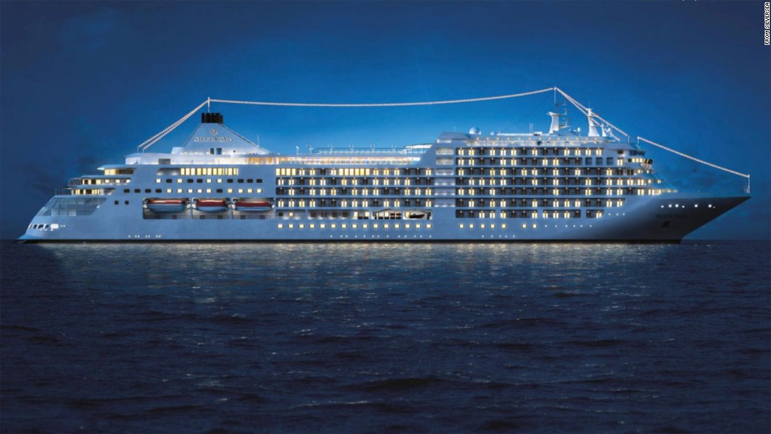 Of The Best New Cruise Ships Launching In CNN Travel - Luxury small cruise ships mediterranean