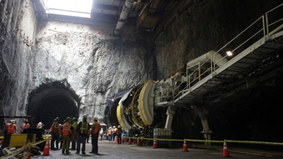 Construction began in earnest in 2007. A small army of workers and engineers used hulking tunnel-boring machines underneath Second Avenue, disrupting traffic and commerce along the busy thoroughfare.