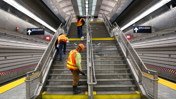 It's the first major expansion of the subway system in more than 50 years, according to the MTA. The line's first phase stretches 1.5 miles. Once completed, the line will span 8.5 miles, from Harlem to downtown Manhattan. But the completion date is unknown.
