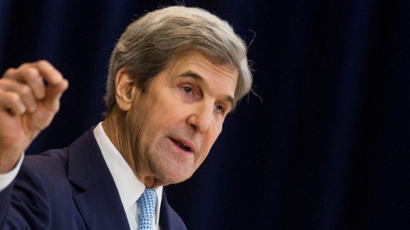 WASHINGTON, DC - DECEMBER 28: U.S. Secretary of State John Kerry delivers a speech on Middle East peace at The U.S. Department of State on December 28, 2016 in Washington, DC. Kerry spoke on the need for a two-state solution and defended the Obama administration's approach to Israel. (Photo by Zach Gibson/Getty Images)