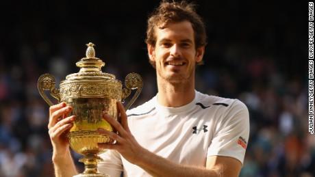 Andy Murray has won two Wimbledon titles.