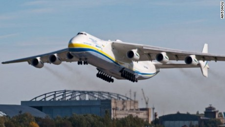 The Ukrainian-built Antonov An-225 is longer than the Stratolaunch.