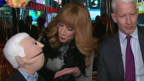new years eve anderson cooper kathy griffin puppets sot_00003908