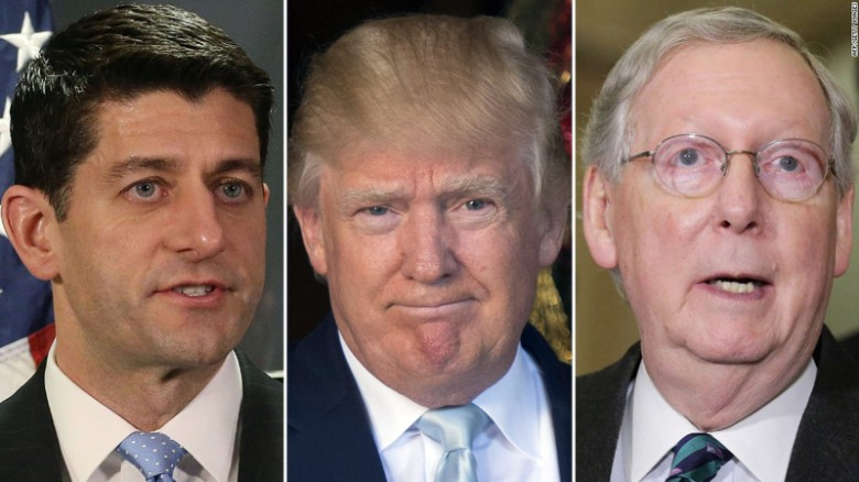 Trump attacks GOP leaders on Twitter