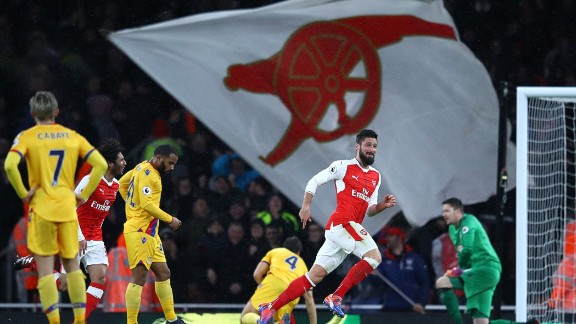 """After the game, Giroud was modest about his wonder goal. """"I have maximum luck,"""" the French international said."""