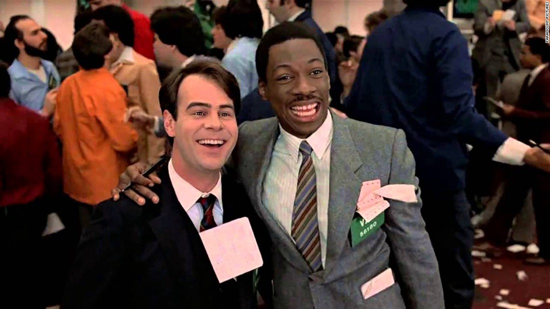 "<strong>""Trading Places"": </strong>Eddie Murphy and Dan Aykroyd reverse fortunes in this now classic 1983 comedy.<strong> (Hulu) </strong>"