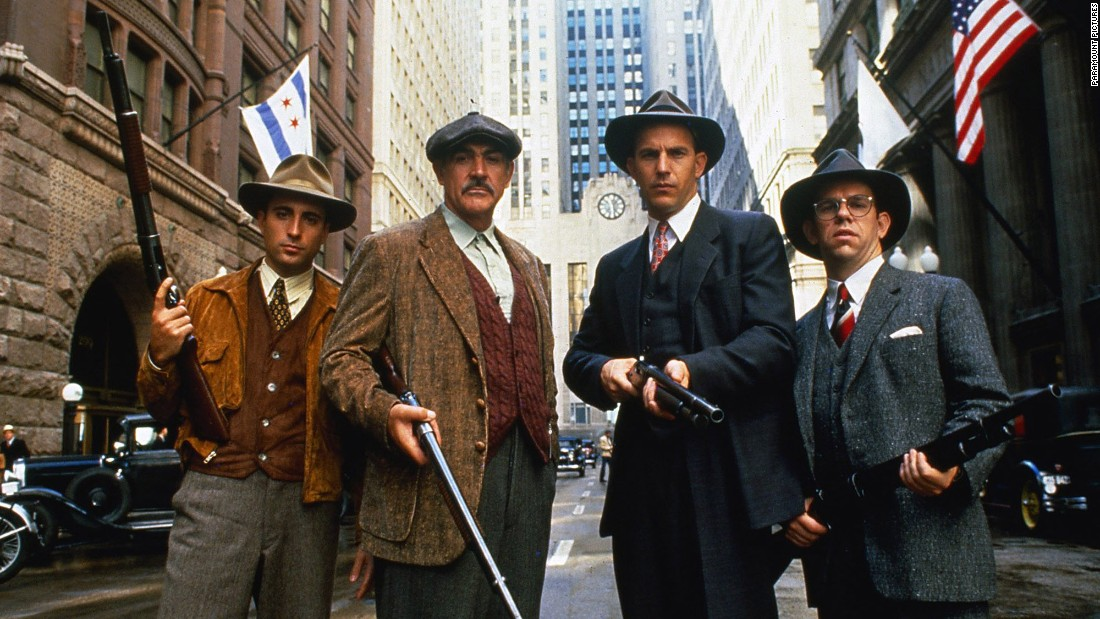 "<strong>""The Untouchables""</strong>: Kevin Costner takes on the mob in this 1987 drama. <strong>(Hulu)</strong>"