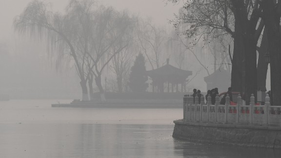 On New Year's Day, Beijing was under a dark cloud of toxic particles 20 times higher than the maximum level recommended by the World Health Organization.