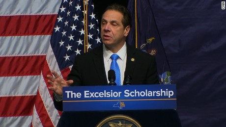 Cuomo announces proposal for free tuition