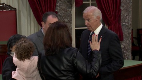 Best of Biden's final Senate swearing-in