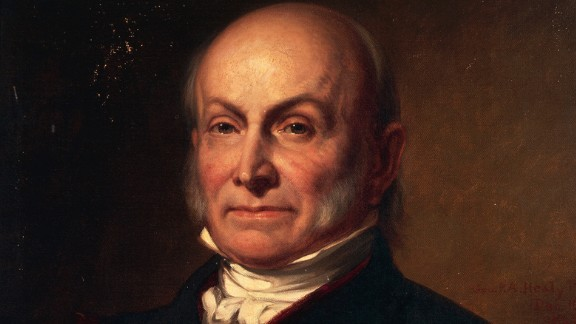 John Quincy Adams, son of former President John Adams, was inaugurated in 1825. He is one of only three presidents who did not use a Bible at his inauguration. He opted for a volume of law. Theodore Roosevelt used no Bible or book at his first inauguration in 1901. Lyndon B. Johnson used John F. Kennedy