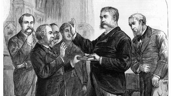 Chester A. Arthur became the nation