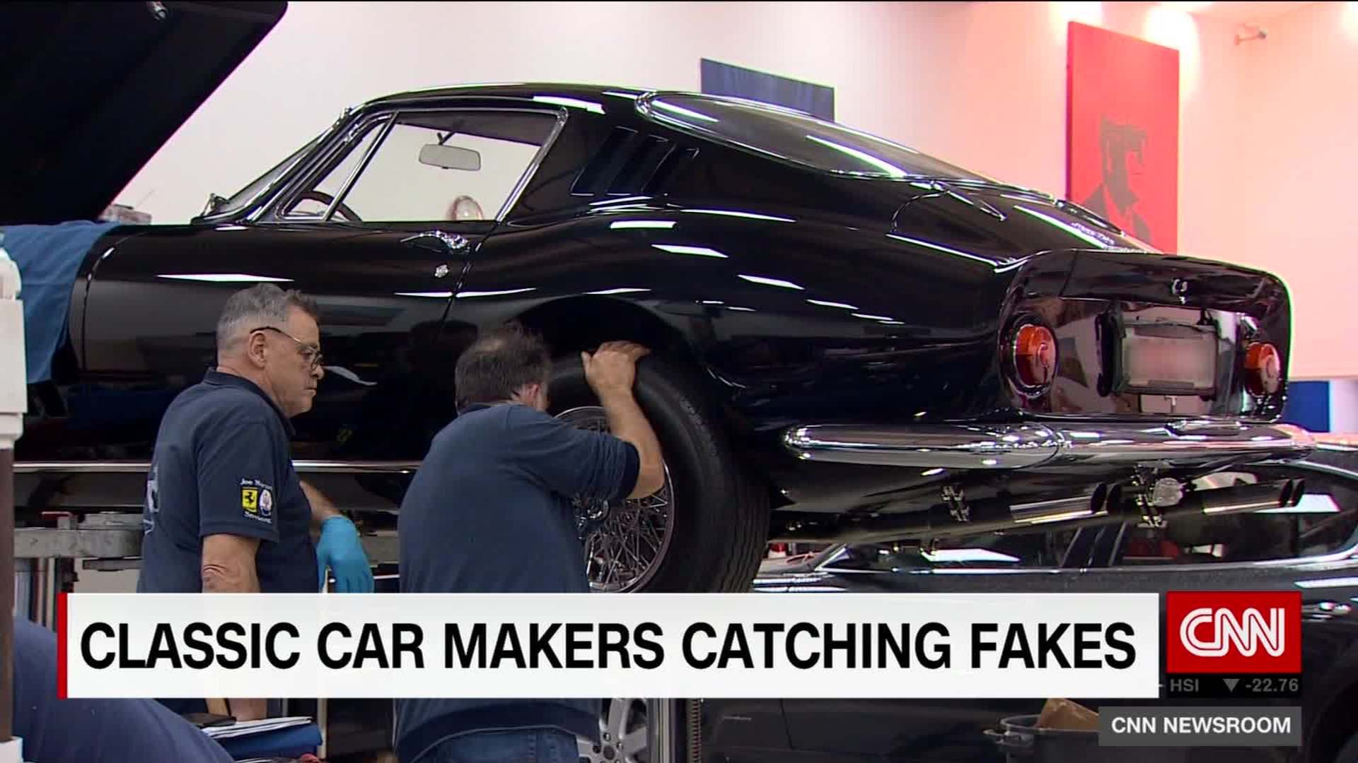 Is your classic car a fake? - CNN Video