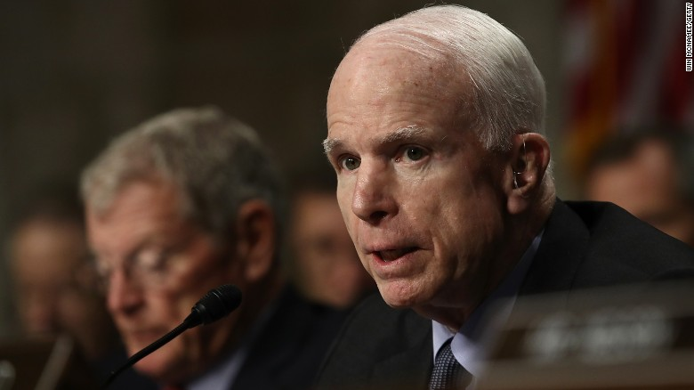 McCain and White House spar over Yemen raid