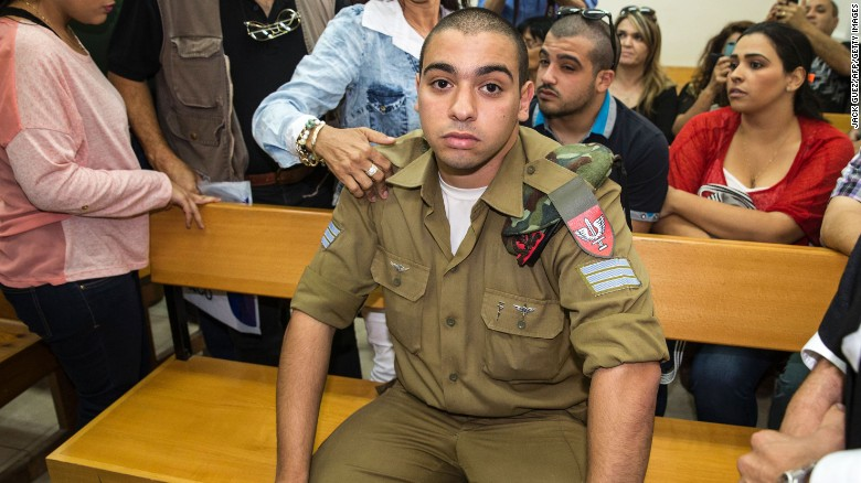 israeli soldier convicted in high profile manslaughter case cnn