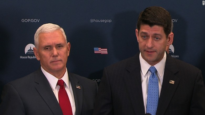Pence, Ryan: We'll keep promise to the people