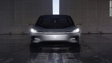 Faraday Future A California Based Electric Car Start Up Unveiled Its First
