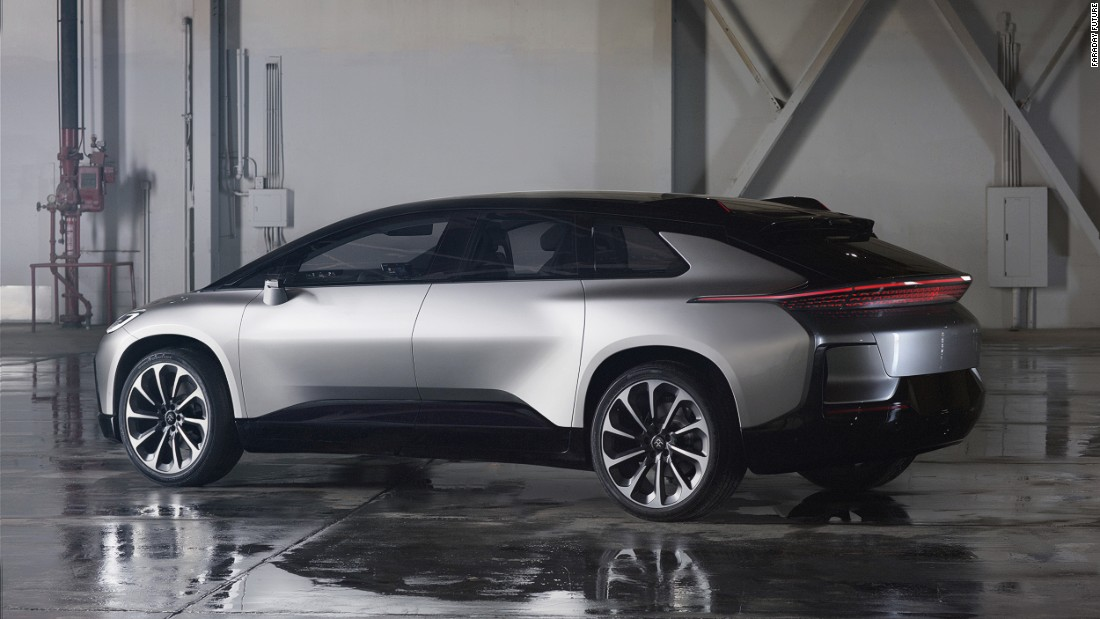 "The FF91 is billed as the fastest electric production car in the world, going from 0-60 mph in 2.39 seconds, marginally quicker than the Tesla S which clocks 2.5 seconds in the same test. <br /><a href=""http://edition.cnn.com/2017/01/19/motorsport/faraday-future-ff91-autonomous-electric-car-ces/""><br />READ: FF91 blends speed, luxury and connectivity </a>"