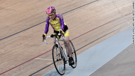 Robert Marchand set a new one-hour cycling record in the 105-year-old-and-above category.